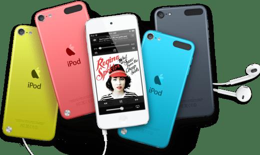 Alte Technik, iOS6 und neuer Preis - der nächste iPod Touch. (Foto: Apple)