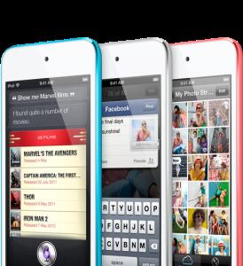 Der neue iPod Touch - könnte schon ein Flop werden. Für Apple-Verhältnisse. (Foto: Apple)
