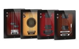 Die kostenlose App simuliert verschiedene Gitarren. (Foto: ION)