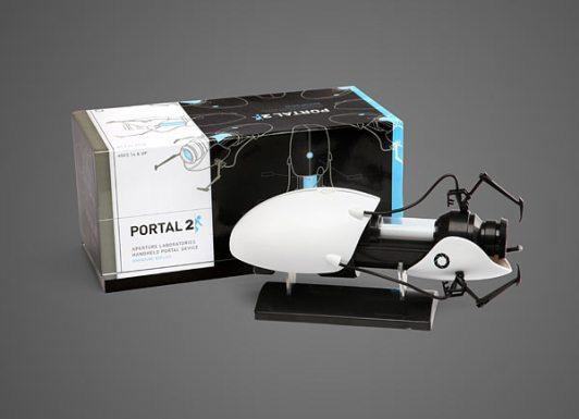 Die Verpackung der Mini Portal Gun. (Foto: ThinkGeek)