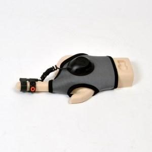 Der Handschuh. (Foto: Thanko)