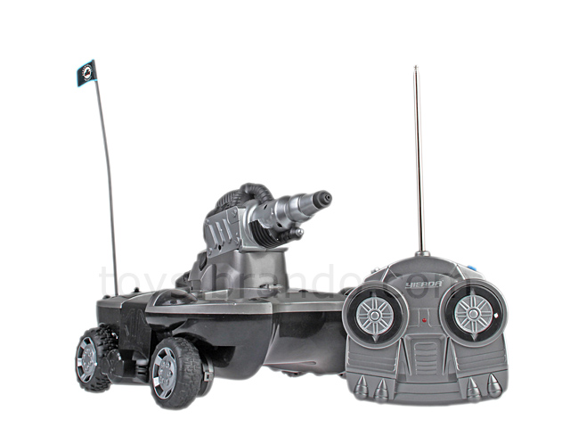 Das Amphibienfahrzeug. (Foto: Brando.com)