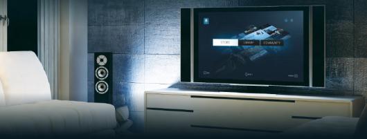 So stellt sich Valve das Gaming der Zukunft vor - am PC im Wohnzimmer. (Foto: Steampowered.com)