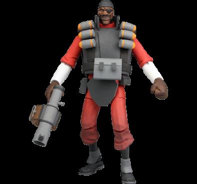 Demoman als Actionfigur. (Foto: Valve)