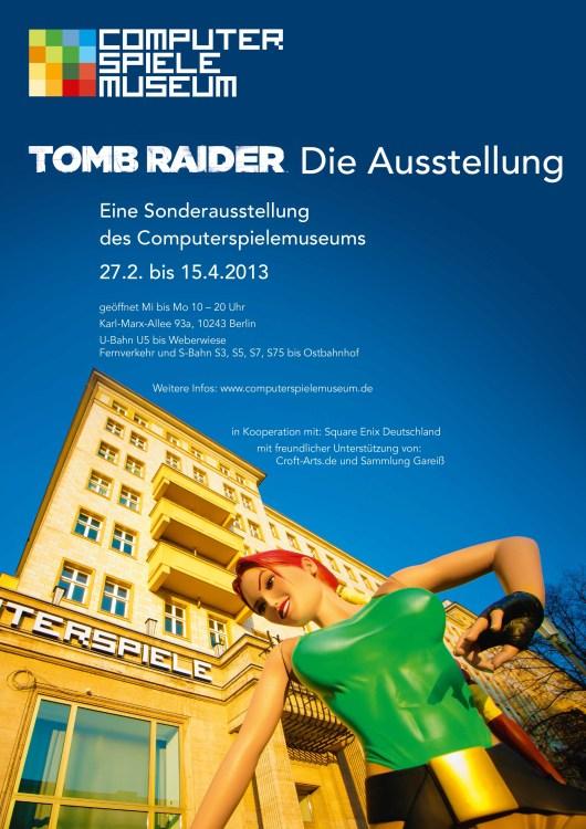 Das Plakat zur Ausstellung. (Foto: Computerspielemuseum Berlin)