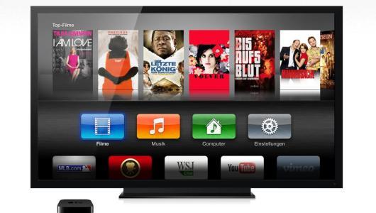 Bisher ist Apple TV nicht sonderlich vielseitig. (Foto: Apple)