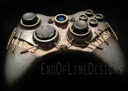 Der Xbox 360-Controller im Dishonored-Design. (Foto: endoflinedesigns.com)