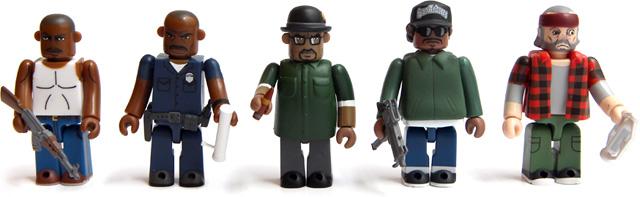 Die GTA Trilogy Kubricks Collectibles. (Foto: Rockstar Games)