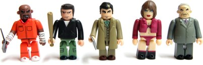 Die GTA Trilogy Kubricks Collectibles. (Foto: Rockstar Games)