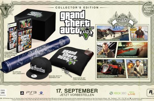 Collector's Edition von GTA V. (Foto: Rockstar Games)