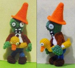 Amigurumi Plants vs. Zombies (Foto: Etsy)