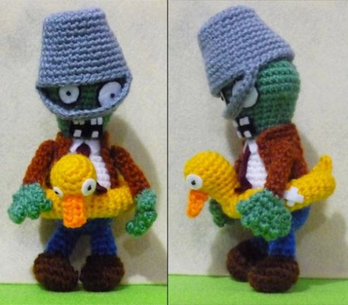 Amigurumi Plants vs. Zombies (Foto: Etsy)