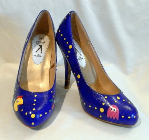 Ms. Pac-Man High Heels. (Foto: Etsy)