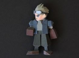 Final Fantasy VII - 3D-Figur. (Foto: Joaquin Baldwin)