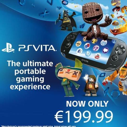 Die Vita jetzt offiziell für 200 Euro. (Foto: Sony)