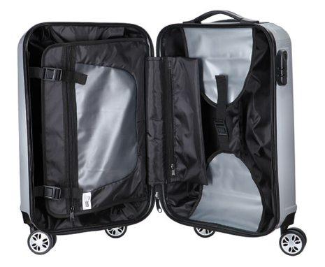 Mehrere Schnallen und Taschen sorgen für ein geordnetes Innenleben (Foto: ThinkGeek)