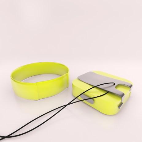Kommt mit Kette und Armband (Foto: Indiegogo)