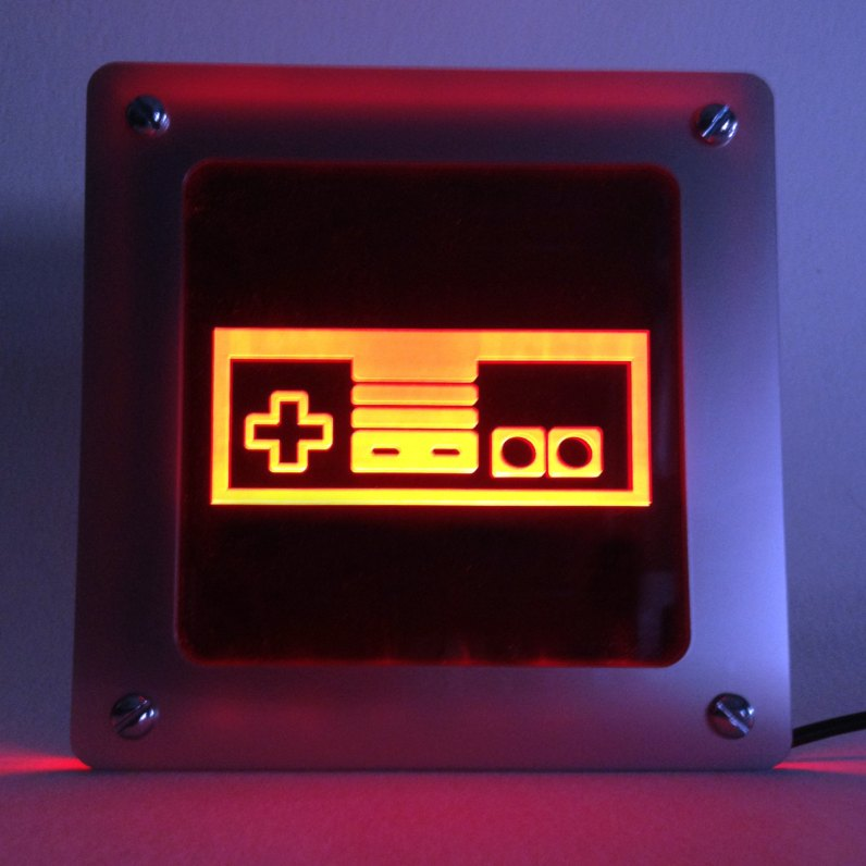 Nintendo Controller LED Light (Foto: Etsy.com)