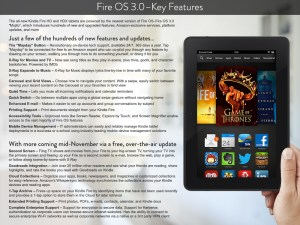 Die Features von Fire OS 3.0 (Foto: Amazon.com)