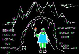 Akalabeth (Foto: archive.org)