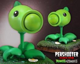 Peashooter mit Geschoss. (Foto: Gaming Heads)