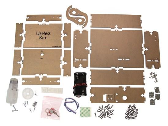 So viele (natürlich nutzlose) Bauteile (Foto: Coolstuff.de)