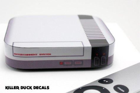 Noch mehr NES: Skin für Apple TV (Foto: Etsy.com)