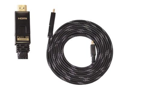 HDMI 1.4/3D Kabel mit 180° verstellbarem Winkelstecker