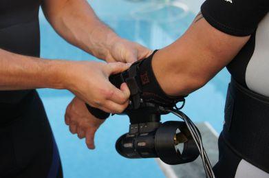 x2 Underwater Jet Pack (Foto: Sharein.com)