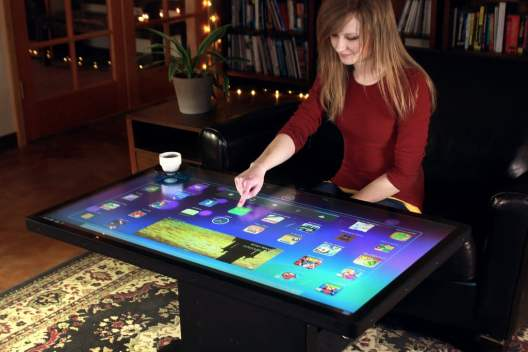 Ideum Platform 46 Coffee Table mit Android OS (Foto: ideum.com)