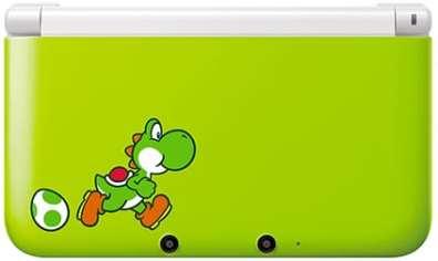 3DS XL Yoshi Special Edition. (Foto: Nintendo)