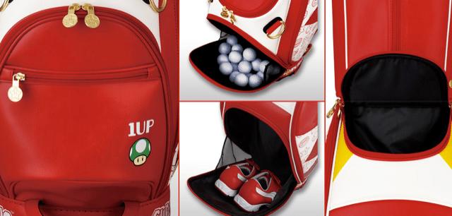 Super Mario Bros. Caddy-Tasche. (Foto: Enjoy Caddie Bag)