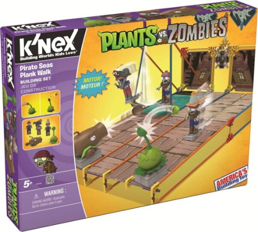 Pirate Seas Plank Walk. (Foto: K'NEX)