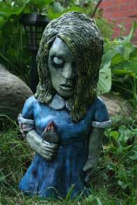 "Karen Cooper ""Night of the Living Dead"" Zombie-Zwerge (Foto: Etsy)"