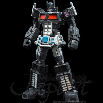 Transformers Convoy (Optimus Prime) Black Pen (Foto: hlj.com)