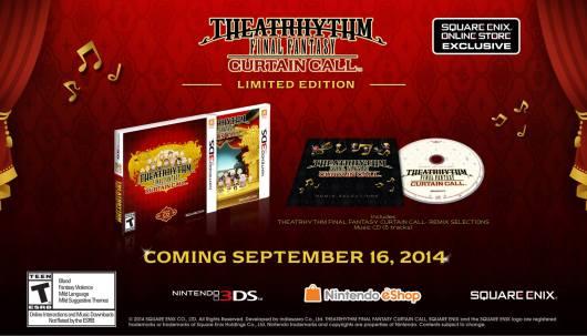 Das ist die Erstauflage des Spiels - eine Bonus-CD als Geschenk. Das Datum gilt für die USA. In Europa geht es am 19. September 2014 los. (Foto: Square Enix)