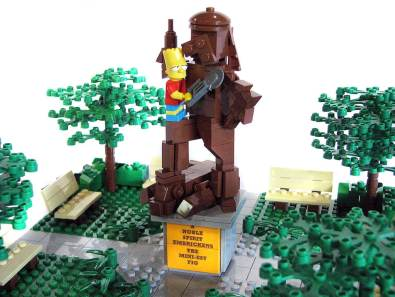 Lego Springfield (Foto: Flickr.com)