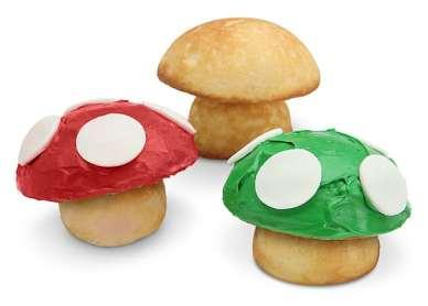 1-Up Mushroom Cupcake Pan. (Foto: ThinkGeek)