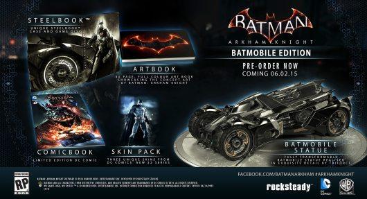 Teuer und prall gefüllt - die Batmobil Edition. (Foto: Warner Bros.)