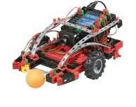 Auch ferngesteuerte Autos können gebaut werden. (Foto: fischertechnik)