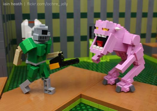 LEGO Doom. (Foto: Iain Heath)