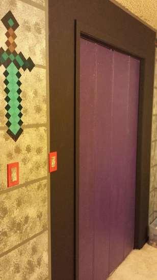 Minecraft Bedroom. (Foto: Geekologie)