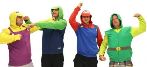 Nintendo Hoodie. (Foto: TV Store Online)