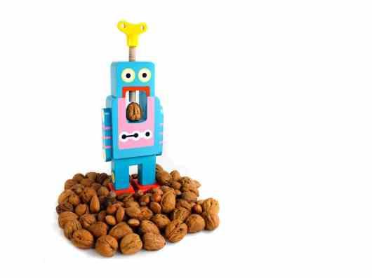 Roboter Nussknacker. (Foto: Coolstuff)