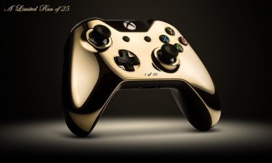 Gold Controller. (Foto: Colorware)