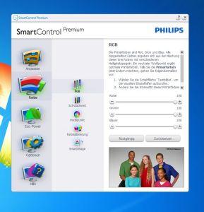 Mit der SmartControl-Software richtet ihr weitere Aspekte ein. (Foto: GamingGadgets.de)