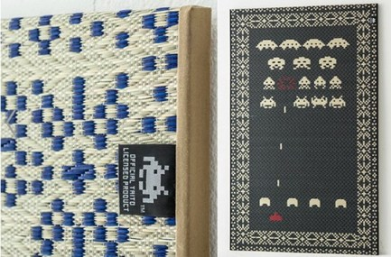 Space Invaders Tatami. (Foto: JapanTrendShop)