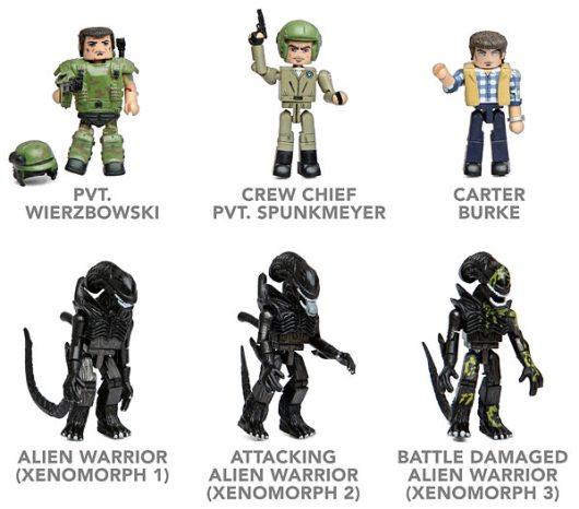 Aliens Minimates (Foto: ThinkGeek)