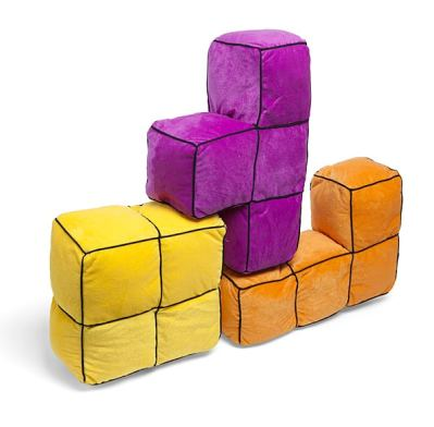Tetris 3D Cushions. (Foto: ThinkGeek)