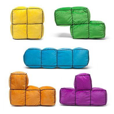 Tetris 3D Cushions. (Foto: ThinkGeek)
